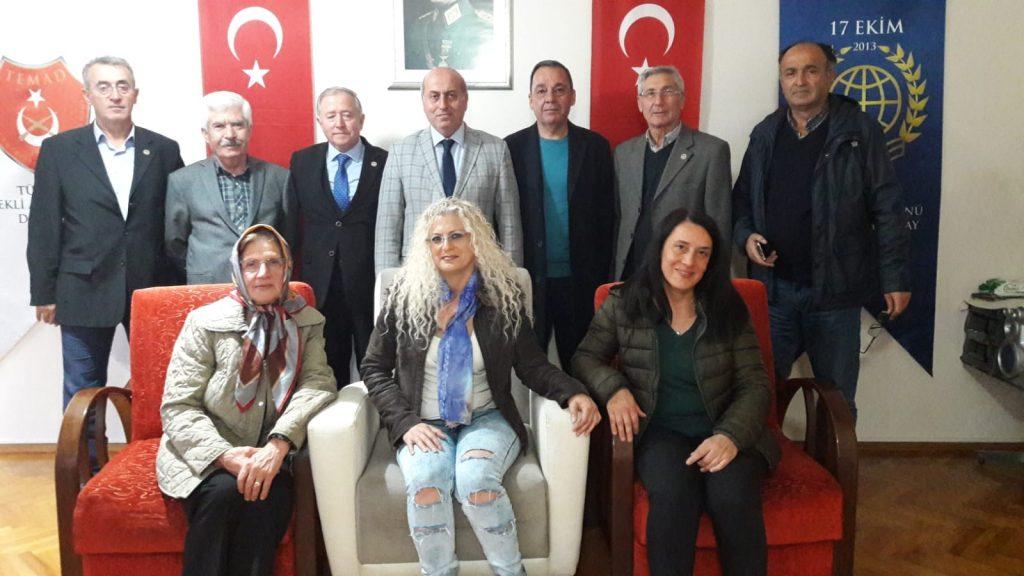 Trabzonspor Yöneticisi Cahit Erdem'in ziyareti