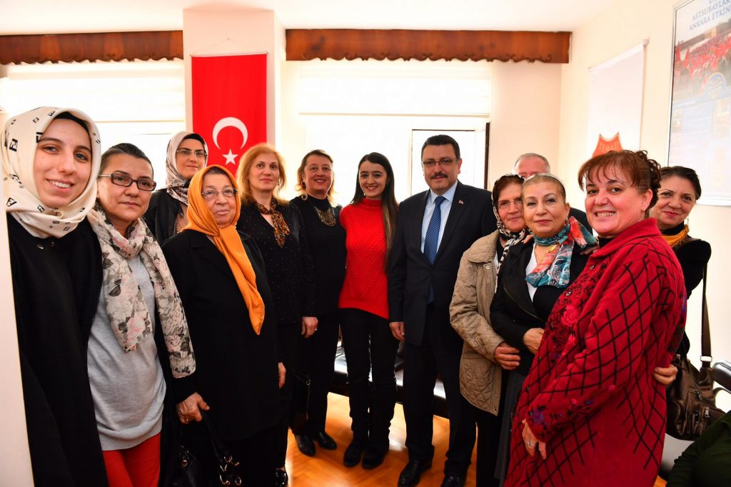 Ortahisar Belediye Başkanının Ziyareti
