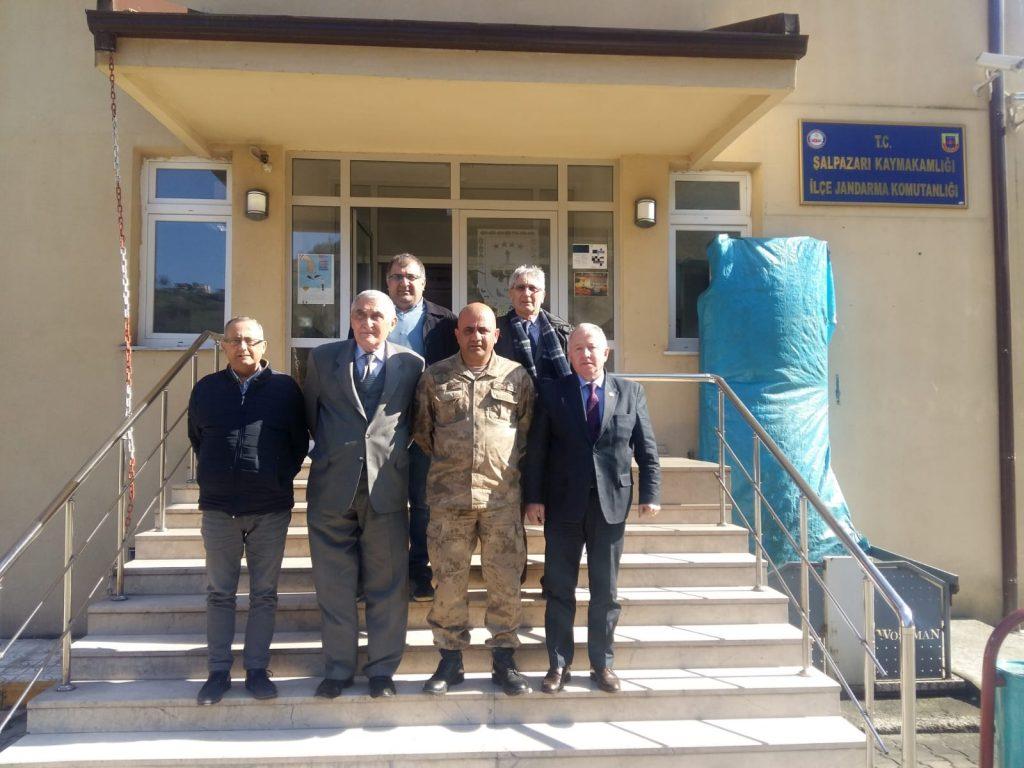 İlçe Jandarma Komutanlıklarına Ziyaret